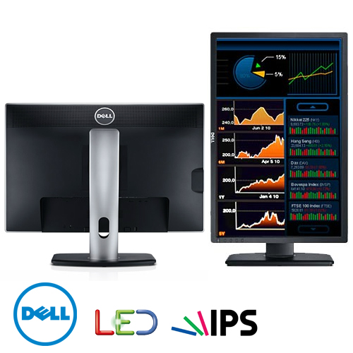 "מסך מחשב ""24 Dell UltraSharp LED IPS U2412M"