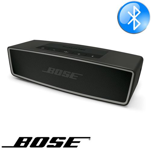 בנפט רמקול נייד Bose SoundLink Mini Bluetooth speaker II בצבע שחור KN-06