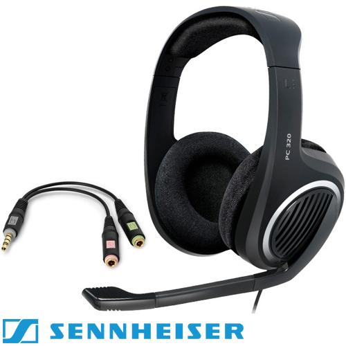 8ff71913c19 אוזניות גיימינג + מיקרופון Sennheiser PC 320