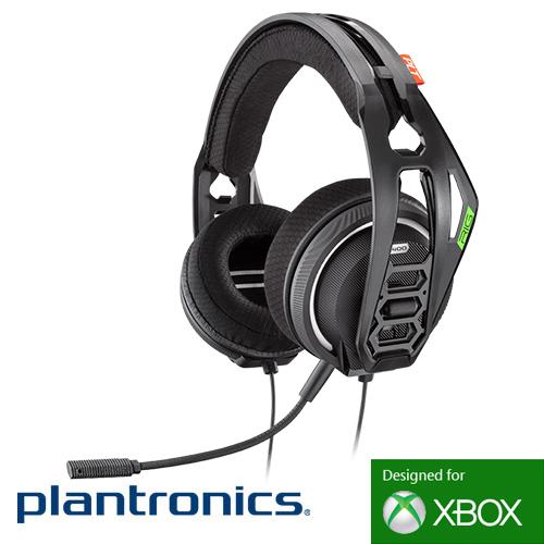 בלתי רגיל אוזניות + מיקרופון Plantronics RIG 400HX Gaming עם Dolby Atmos ל-XBOX UT-75
