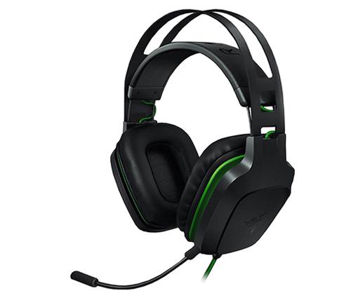 הוראות חדשות אוזניות גיימינג Razer Electra V2 + מיקרופון בצבע שחור ירוק PG-87