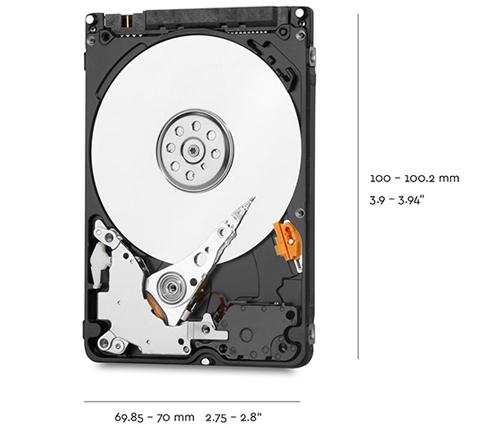 בלתי רגיל דיסקים קשיחים למחשבים ניידים 2.5 אינץ - אייבורי מחשבים וסלולר UL-38