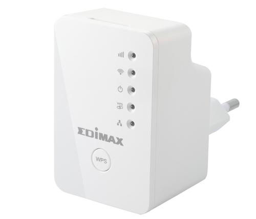 נפלאות מגדיל טווח Edimax Wi-Fi Extender EW-7438RPn Mini עד 300Mbps AI-11