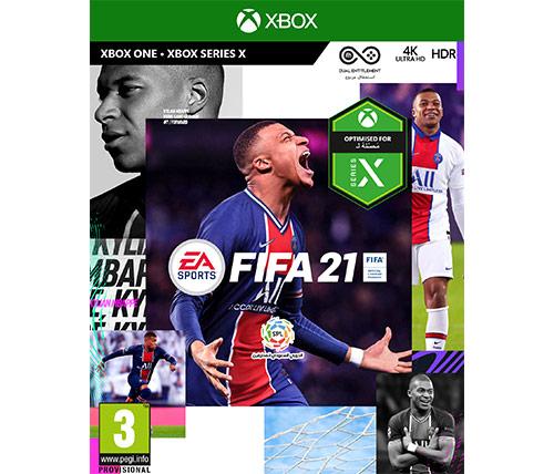 משחק הכדורגל FIFA21 לאקסבוקס וואן xbox one