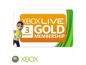 כרטיס Xbox Live 3-Month Gold Membership