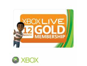 כרטיס Xbox Live 12-Month Gold Membership