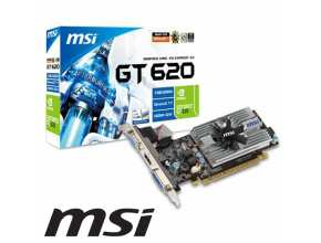 MSI NVIDIA GeForce GT620 1GB DDR3