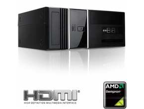 מחשב סלוני HTPC הכולל AMD Sempron  AM3 145