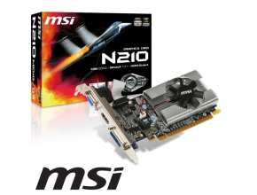MSI NVIDIA GeForce 210 1GB DDR3