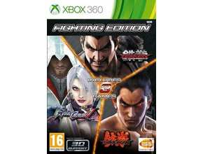 Fighting Edition: Tekken 6 + Tekken Tag Tournament 2 + Soul Calibur V XBOX 360