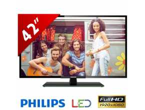 "טלוויזיה ""42 Philips LED 42PFA4609"