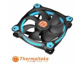 "מאוורר למארז 12 ס""מ Thermaltake Riing 12 LED Blue"