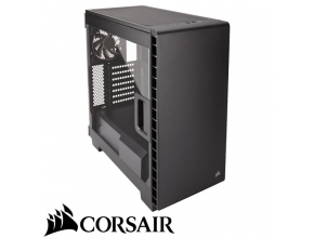 מארז מחשב Corsair Carbide Series Clear 400C Compact כולל חלון צד