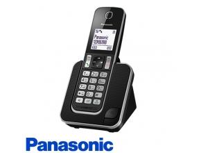 מפואר טלפון אלחוטי Panasonic KX-TGD310 בצבע שחור QE-45