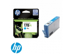 ראש דיו מקורי HP 178XL CB323HE Cyan