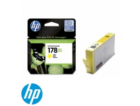 ראש דיו מקורי HP 178XL CB325HE Yellow