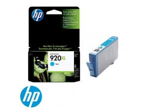 ראש דיו מקורי HP 920XL CD972AE Cyan