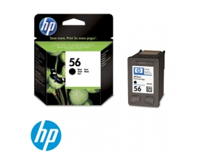 ראש דיו מקורי HP 56 C6656AE Black