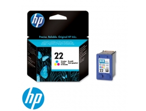 ראש דיו מקורי HP 22 C9352AE Color