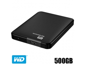 דיסק קשיח חיצוני Western Digital Elements Portable 500GB WDBUZG5000ABK