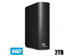 דיסק קשיח חיצוני Western Digital 2TB Elements Desktop WDBWLG0020HBK
