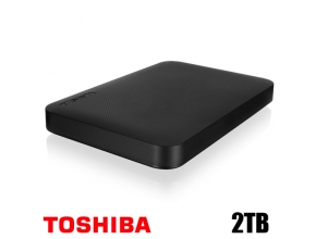 דיסק קשיח חיצוני Toshiba CANVIO READY HDTP220EK3CA 2TB BLACK