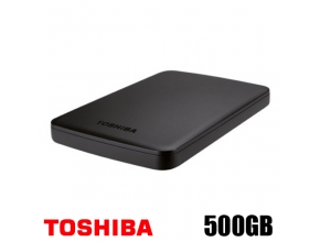 דיסק קשיח חיצוני Toshiba CANVIO BASICS HDTB305EK3AA 500GB BLACK