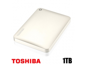 דיסק קשיח חיצוני Toshiba Canvio Connect II HDTC810EC3AA 2.5'' 1TB Satin Gold