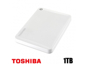 דיסק קשיח חיצוני Toshiba Canvio Connect II HDTC810EW3AA 2.5'' 1TB White