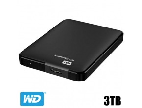 דיסק קשיח חיצוני Western Digital 3TB Elements Portable WDBU6Y0030BBK