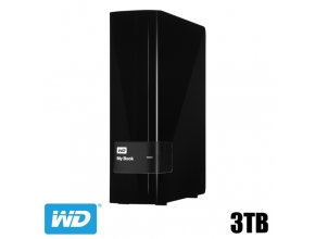 דיסק קשיח חיצוני Western Digital 3TB My Book WDBFJK0030HBK