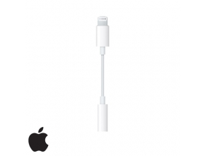 מתאם מקורי Lightning Apple לשקע אוזניות PL3.5mm