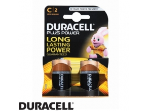 סוללות Duracell PLUS POWER  MN1400 C 2 pack