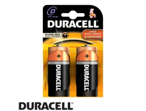 סוללות Duracell PLUS POWER  MN1300 D 2 pack