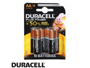 סוללות Duracell Plus Power MN1500 AA 6 pack