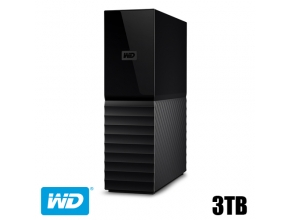דיסק קשיח חיצוני Western Digital 3TB My Book New WDBBGB0030HBK