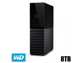 דיסק קשיח חיצוני Western Digital 8TB My Book New WDBBGB0080HBK