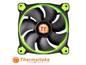 "מאוורר למארז 12 ס""מ Thermaltake Riing 12 LED Green"