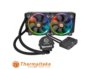 קירור נוזלי למעבד Thermaltake Water 3.0 Riing RGB 240