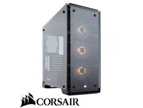 מארז מחשב Corsair Crystal Series 570X RGB בצבע שחור ושקוף