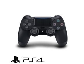 בקר אלחוטי  Sony PS4 DUALSHOCK 4 Wireless Controller Jet Black V2