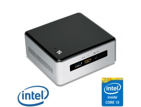 מחשב מיני NUC דגם NUC5I3RYH הכולל מעבד Intel Core™ i3-5010U 2.1GHz