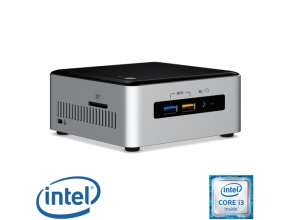 מחשב מיני NUC דגם NUC6i3SYH הכולל מעבד Intel Core™ i3-6100U Skylake 2.3GHz