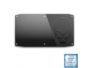 מחשב מיני NUC הכולל מעבד Intel Skull Canyon Core™ i7-6770HQ 2.6GHz ודיסק SSD M.2 500GB