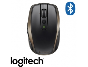 עכבר Logitech MX Anywhere 2 Wireless Bluetooth בצבע שחור