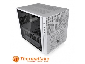 מארז מחשב Thermaltake Core X5 Tempered Glass Snow Edition בצבע לבן