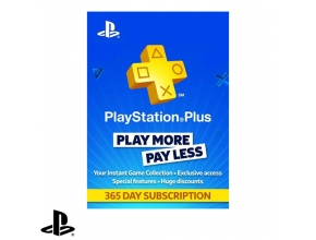 כרטיס מנוי Sony PlayStation Plus 365 Day Subscription לשנה