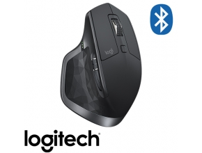 עכבר Logitech MX Master 2S Wireless Bluetooth בצבע שחור