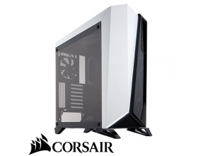 מארז מחשב Corsair Carbide Series® SPEC-OMEGA Tempered Glass בצבע לבן ושחור