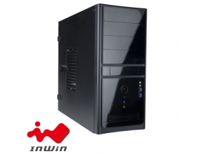 מארז מחשב In Win EC021 USB 3.0 בצבע שחור